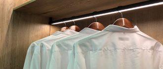 Внутренняя подсветка шкафа: интересное и практичное решение для дома